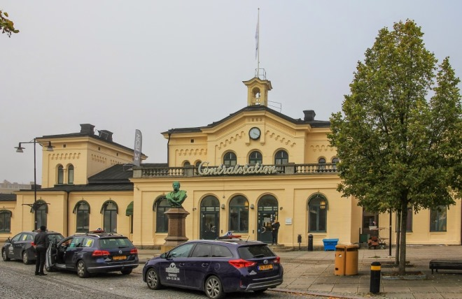Вокзал Эребру