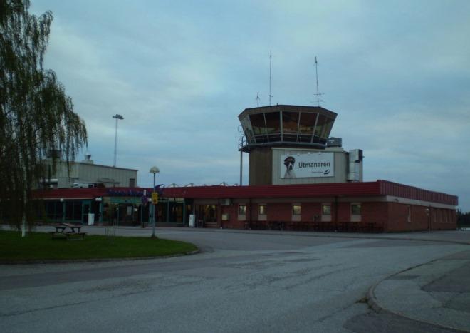 Аэропорт в Эребру