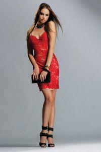 Czerwona suknia wieczorowa 4