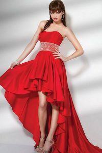 Czerwona suknia wieczorowa 5