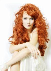 боја боје косе црвена боја 3