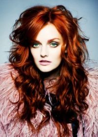 црвена боја боје за косу 5