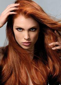 црвена боја боје косе 6