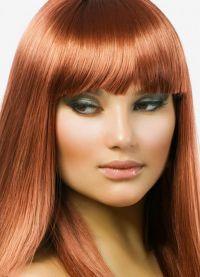 црвена боја боје за косу 9