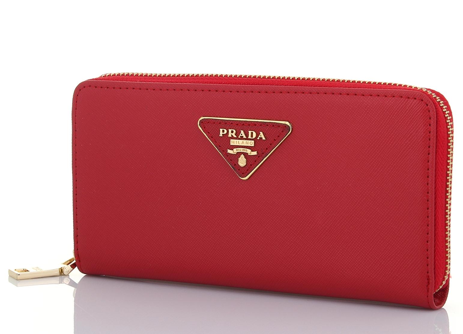 czerwony portfel 8