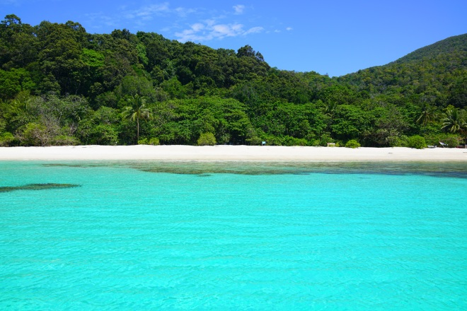 Пляж Simpan beach