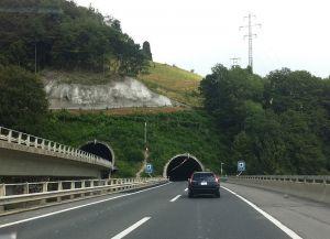 Швейцария туннель