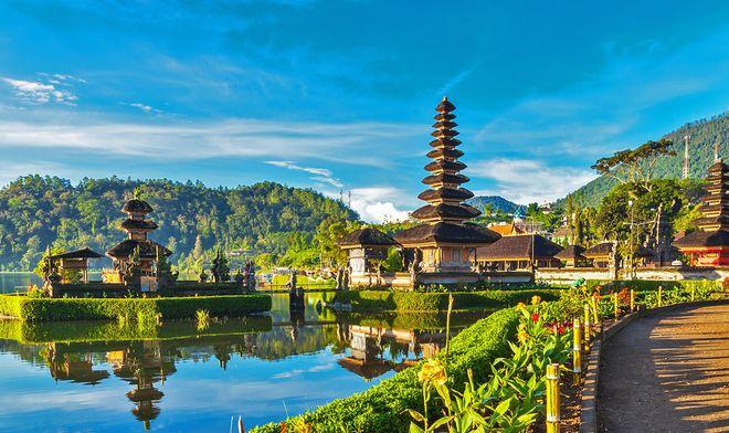 Курортный остров Бали, Индонезия