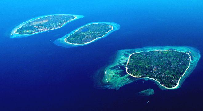 Курортные острова Гили, Индонезия