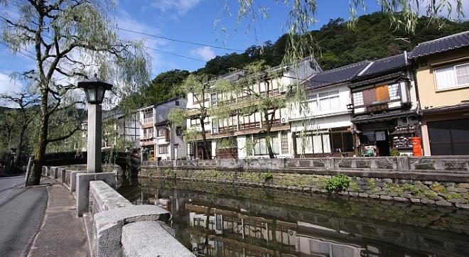 Киносаки - город-онсэн
