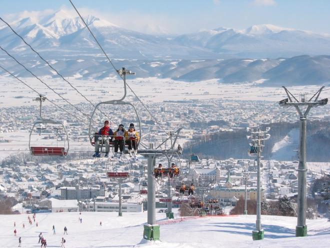 В Фурано проходили соревнования зимней олимпиады 1998 года