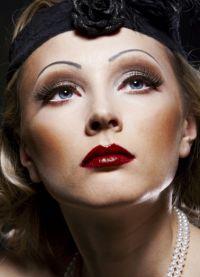makijaż retro 4