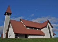 Единый комплекс - церковь и музей, посвященные Снорри Стурлусону
