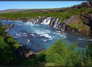 Лавовые водопады Хрейнфоссар