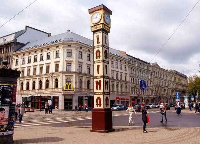 Знаменитые часы «Лайма»