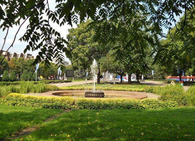Зеленый парк Эспланада