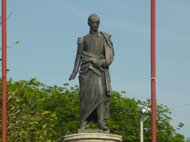 Памятник Симону Боливару