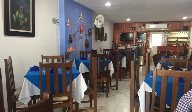 Restaurante La Casa del Marisco - один из лучших ресторанов национальной кухни