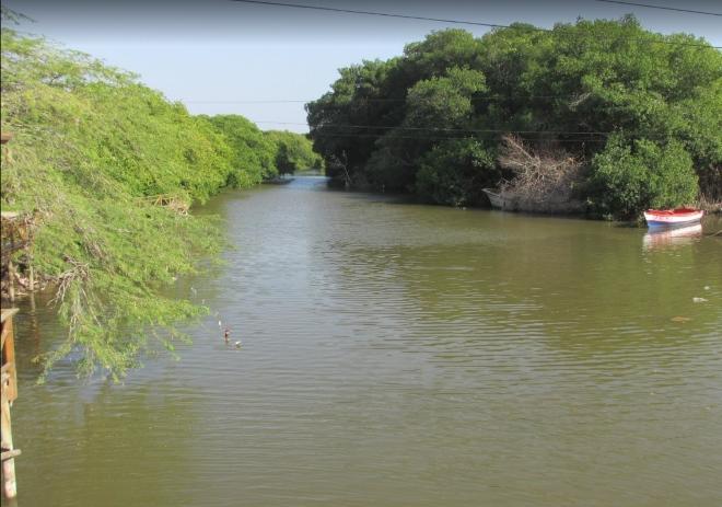 Река Ача (Топор)