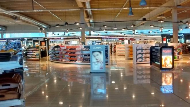 el Sineriz Shopping - самый крупный торговый центр в стране