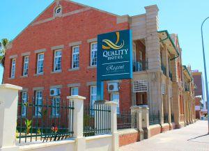 Отель Quality Hotel Regent