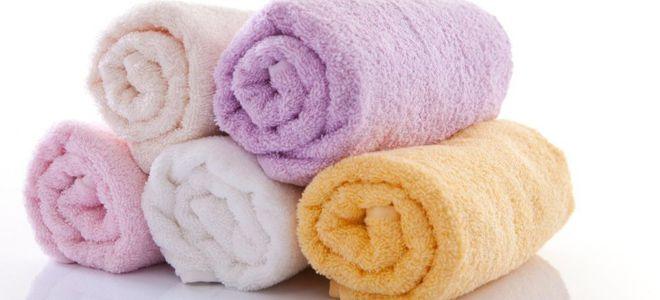 валик для спины из полотенца