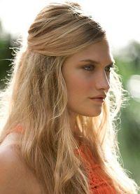 fryzury w romantycznym stylu 1