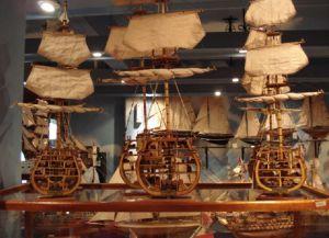 Модели парусников - наиболее популярные сувениры