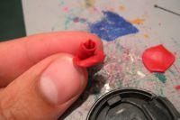 Róże z glinki polimerowej14