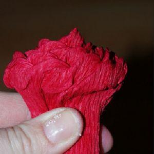 Róże z papieru falistego12