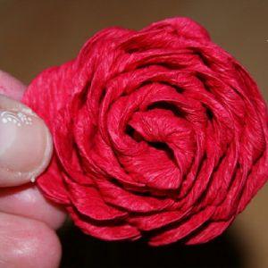 Róże z papieru falistego14