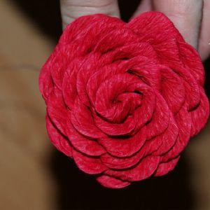 Róże z papieru falistego15