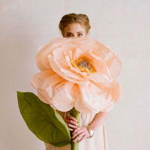 Róże z papieru falistego16
