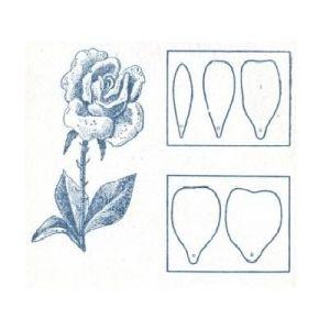 Róże z papieru falistego1