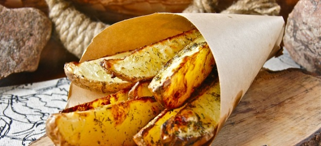 Prirodni krumpir s češnjakom