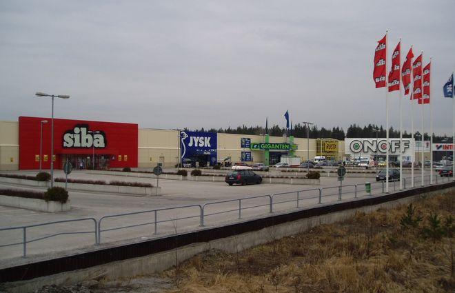 Торговый центр Moraberg в Седертелье