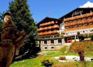 Отель Alphubel летом