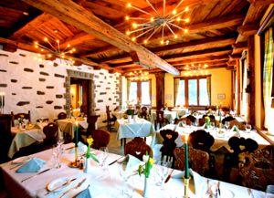 Ресторан в Саас-Фе