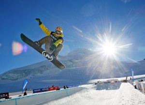 Трассы для сноубордистов в Саас-Фе