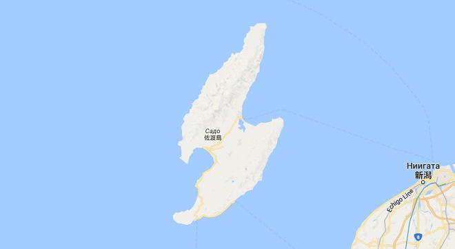 Форма острова