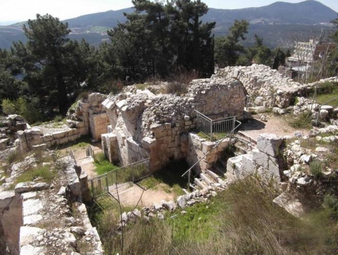Руины крепости крестоносцев