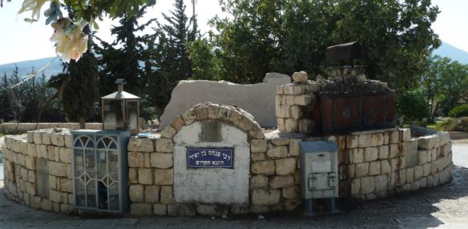 Могила раввина Берга