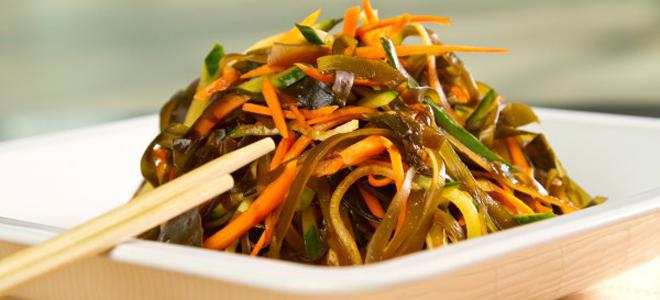 sladka solata iz morskih alg