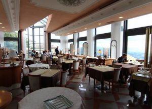 Ресторан Nido del Falco Внутри