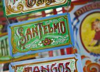 Сувенирная продукция в Сан-Тельмо