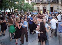 Танцующие танго в Сан-Тельмо