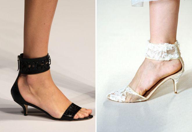 модная высота каблука 2017