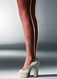 sandály s punčochami 1