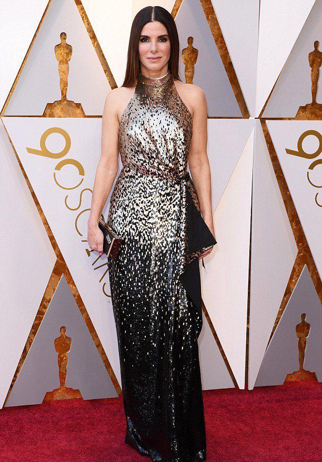Сандра Баллок на «Оскаре 2018»