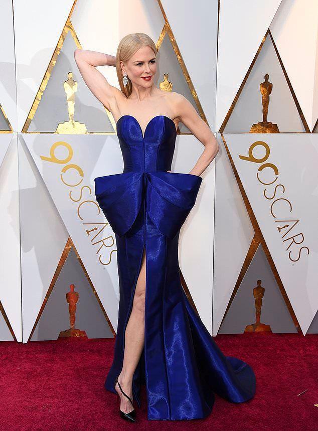 Николь Кидман на «Оскаре 2018»